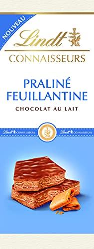 Lindt - Praliné Feuillantines CONNAISSEURS - Chocolat au Lait - 120g