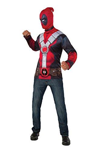 Rubie's 889841L Officiële Deadpool Marvel Boek Dag Superhero Kostuum Outfit, Volwassenen