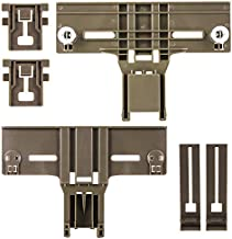 Dishwasher Top Rack Parts W10350376 & W10195840 & W10195839 for Kenmore Elite 665 Dishwasher, Whirlpool Dishwasher, wdt730pahz0, Replace W10350374, W10712394 (6 Packs)