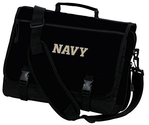 Broad Bay Naval Academy Laptop Bag USNA Navy Computer Bag or Messenger Bag