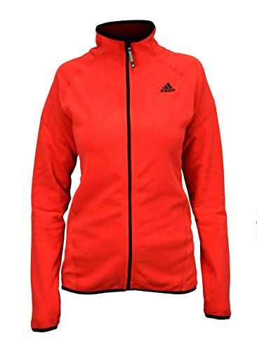 adidas Sailing Damen Microfleece Full Zip Fleecejacke, Größe:S, Farbe:Vivid Red
