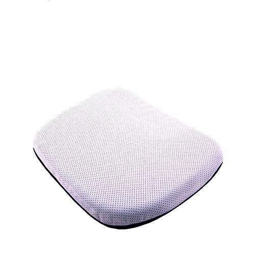 QYN Gel Enhanced Orthopedic Seat Cushion,multifunction Breathable Portable Seat Pad Durable Cool Ventilation Chair Cushion-l 40x34cm(16x13inch)
