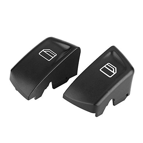 Qiilu Interruptor de Control Ventana Electrónica Botones de los elevalunas 1 par para VITO W639 series 2003-2015 MK2 W906 series 2005-2015