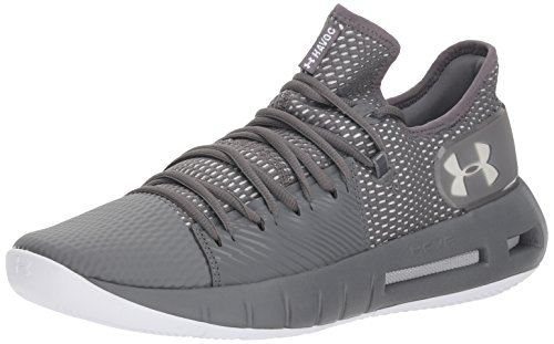 Under Armour Men's Drive 5 Low Basketball Shoe, Graphite (101)/White, 9