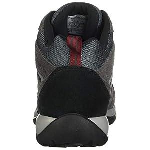 Columbia Men's Redmond V2 MID Waterproof Boot Hiking Shoe, Graphite/red Jasper, 10.5 Wide