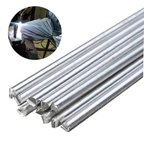 Lega 10PCS Bassa Temperatura Alluminio Argento Saldatura brasatura Saldatura Rod per la Riparazione di Saldatura Rohi Resistenza alla corrosione