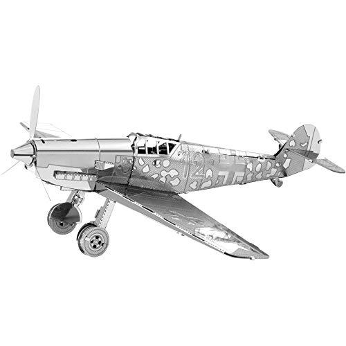 Faszination Metal Earth Messerschmitt BF-109 Flugzeug 3D Metal Model Kit