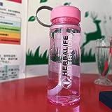 fxwl Botella de Agua Deporte 1000ml Herbalife Nutrition Portable Sports Camping Ciclismo Viaje Jugo De Plástico Botella De Gran Capacidad Botella De Agua Resistente Al Calor