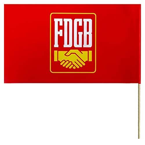 Ostprodukte-Versand.de Papierfahne FDGB Winkelement - DDR Traditionsprodukte - DDR Waren