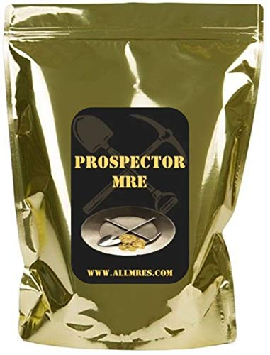 24hr Prospector MRE 'THE MOTHER LODE' Menus 1-12 with 1st Insp.Date '20 - '23 (MENU 8 'THE MOTHER LODE')