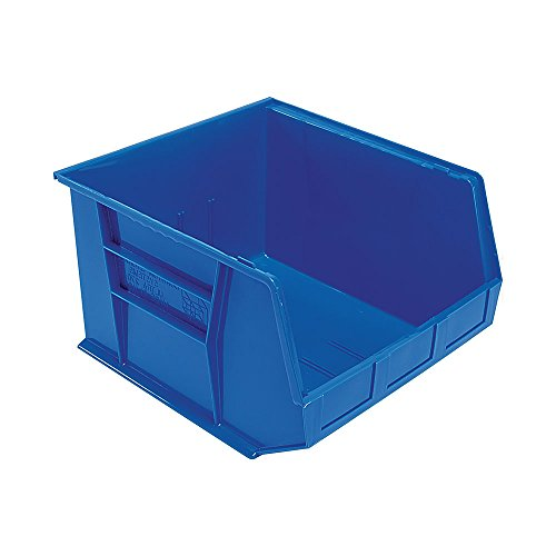 Quantum Storage Systems QUS270 Ultra Stack and Hang Bins 3 Pack Blue