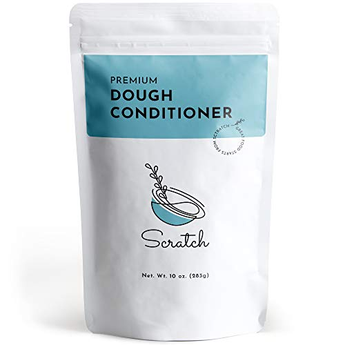 Scratch Premium Dough Conditioner - All Grain Bread Improver, Dough Enhancer, Bread Enhancer (10 Ounce)