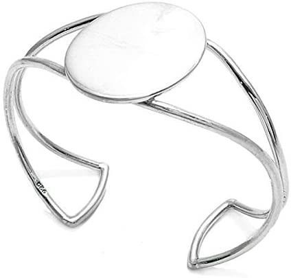 Cuff Bracelet, 925 Sterling Silver 7
