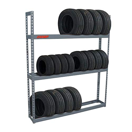 Champ Tire Rack - 30 Tire Capacity - 84 in H x 72 in W - Professional - Made in USA