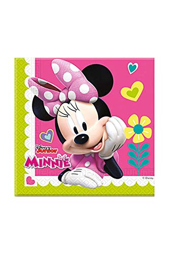Colorbaby 87864 - Pack 20 Servilletas De Papel Disney Minnie Mouse Par
