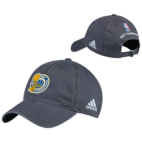 adidas Golden State Warriors 2017 NBA Finals Champions Grey Locker Room Unstructured Adjustable Cap/Hat