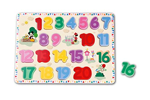 Disney - Puzzle en Bois pour bébé, DY012.