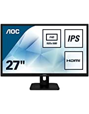 "AOC 27E1H 27"" IPS LED Full HD (1920x1080) monitor (VGA, HDMI) - Black"