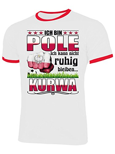 Aprom-Sports Pologne Polska Baby Em T-Shirt/ /Taille 56 86/ /Blanc /Maillot Look/