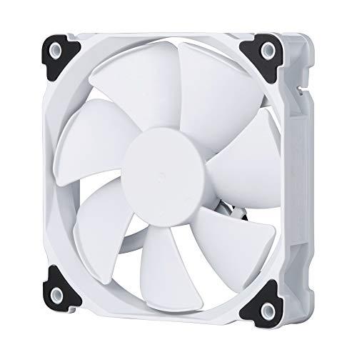 Phanteks PH-F120MP Ventilador PWM de alta presión estática de 120 mm, 2200 rpm, color blanco