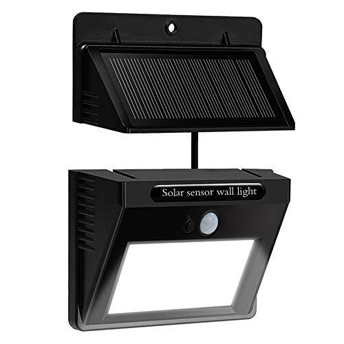 Bovon Separable Foco Solar, Luz Solar 10 LED con Sonsor de Movimiento Lámpara Solar Impermeable al Aire Libre para Patio, Terraza, Jardín y Seguridad de Exterior