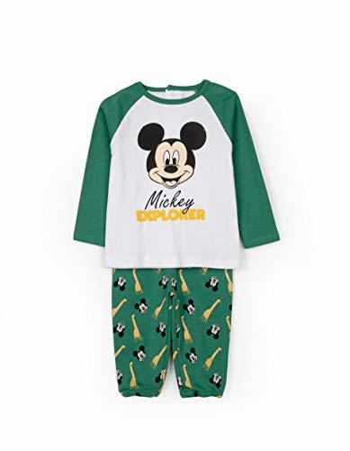 ZIPPY ZBBPL10_487_2 Pajama Set, Verde, 9 Meses Baby-Boys