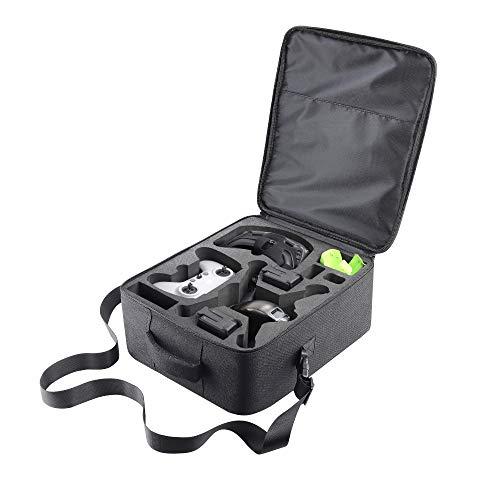 Tragbare Tasche für DJI FPV, robuste Schultertasche, Tragetasche für DJI FPV Racing Drohne, Brille V2, Fernbedienung 2, Motion Controller, Akku, Propeller und Zubehör.