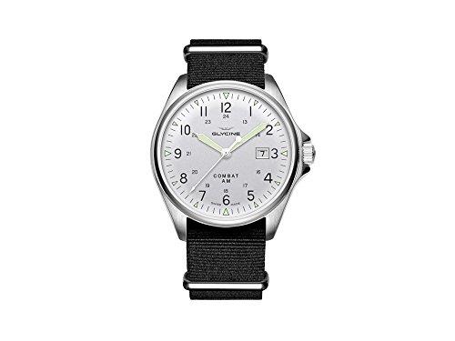 Combat vintage orologio Uomo Analogico Automatico con cinturino in Nylon...