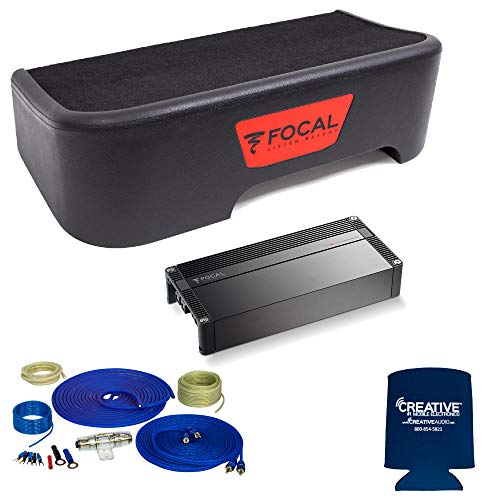 Best Prices! Focal Compatible with 2017-2018 Ford Superduty SuperCrew - Single 10 Sub Package w/Wir...