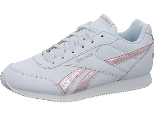 Reebok Damen Royal Cljog 2 Fitnessschuhe, Mehrfarbig (Pastel/White/Practical Pink/Silver 000), 36 EU