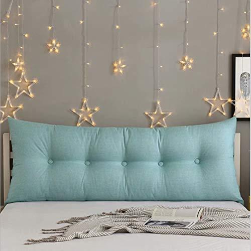Headboard Cushion cuscino a cuneo Comodino cuscino grande letto matrimoniale tatami testata letto morbido cuscino schienale cuscino triangolo cuscino vita semplice moderno sfoderabile e lavabile