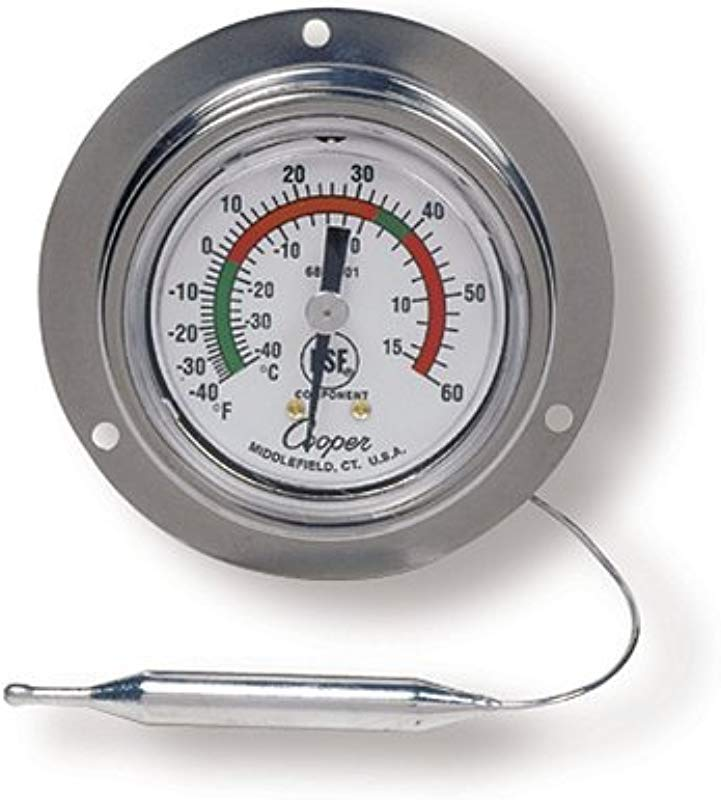 COOPER ATKINS 6812 01 3 2D IN 0C 40F 15C 60F REMOTE READING THERMOMETER
