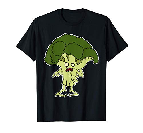 Brócoli Zombie Disfraz de Halloween 2020 Brócoli Fantasma Camiseta