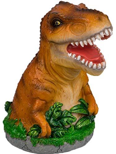 Bada Bing Spardose Dinosaurier Dino GRÜN oder BRAUN Ca. H. 14,5 x Ø 8,5 cm T-Rex Sparschwein Zum Geld Sparen Geschenk Junge Geburtstag Weihnachten Geldgeschenk Verpacken 94