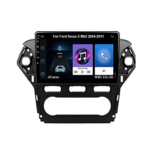 Autoradio Android Car Radio Stereo 9 Pulgadas Pantalla Táctil Para Ford Mondeo 4 2010-2014 Para De Coche Conecta Y Reproduce Autoradio Mit Bluetooth Freisprecheinrichtung