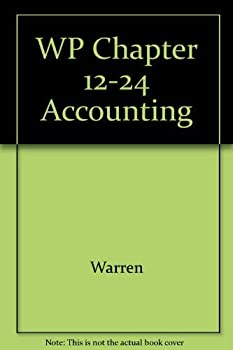 Working Papers Chpts 12-24 Accounting 0324051972 Book Cover