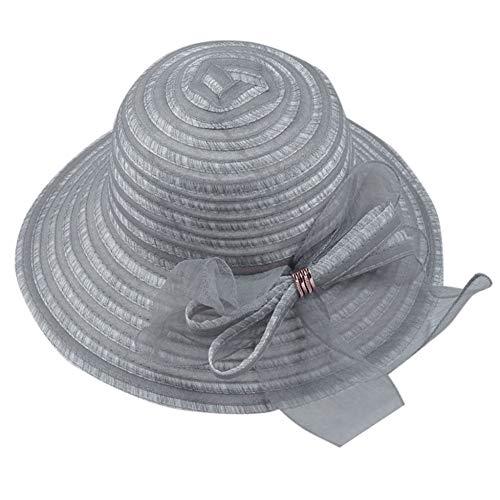 TYMDM zonnehoed grote rand strohoed floppy brede rand zuncap bowknot strand vouwbare hoed chapeau femme mariage nieuw
