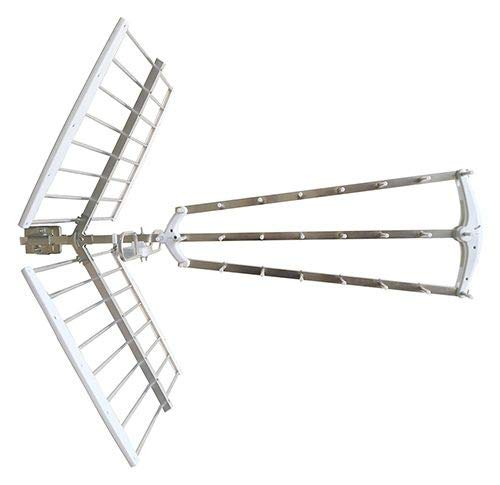takestop Antena de TV de interior y exterior para amplificador de señal digital (exterior ZTL-928LTE)