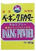 西日本食品工業 白鳥印 ベーキングパウダー40g