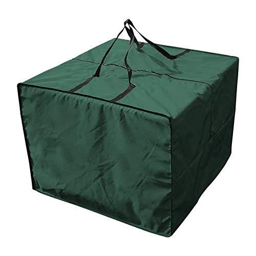 GYTVITA Aufbewahrungstasche Und Schutzhülle Für Loungekissen Gartenmöbel Sitzkissen, Wasserabweisende Gartenmöbelauflagen Aufbewahrung Aufbewahrung Tasche Mit Tragegriff (Green)