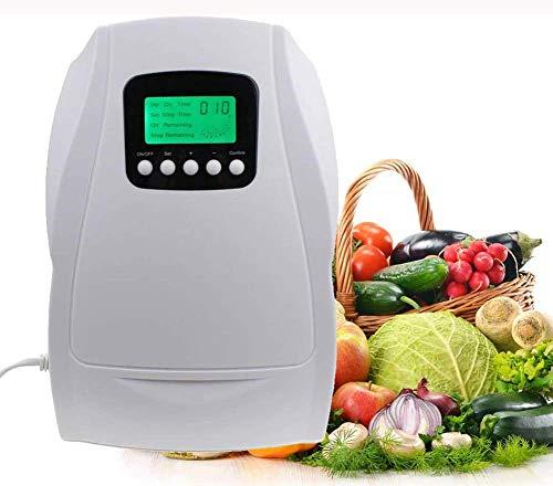 Générateur d'ozone, purificateur d'air multifonctionnel, machine de préparation et de désinfection de l'eau avec fonction de minuterie Stérilisation et conservation des fruits et légumes domestiques