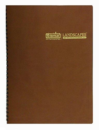 "House of Doolittle 2017 Monthly Planner Calendar, Landscapes, 8.5 x 11"" (HOD52401-17)"