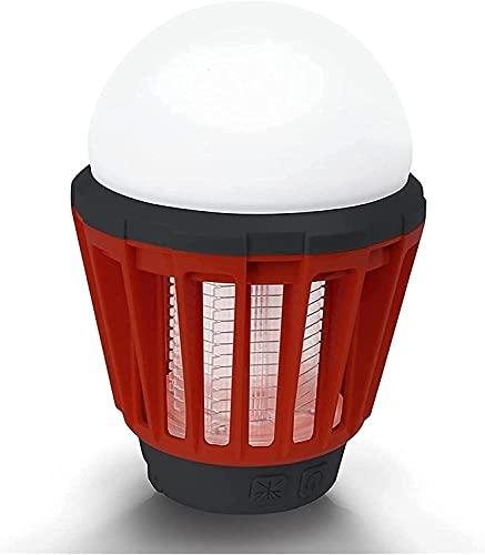 WXFCAS Portátil UV Ligero Mata a los Insectos de los Mosquitos DIRIGIÓ Lámpara Impermeable de Linterna Recargable USB Ultravioleta Zapper para Acampar al Aire Libre Repelente de Insectos