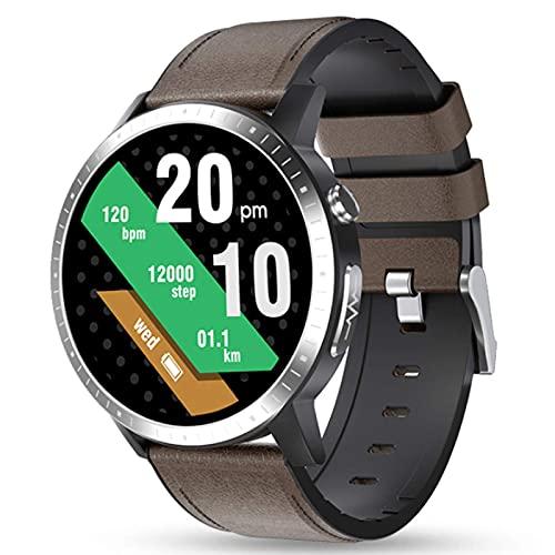 HYLK Reloj Inteligente de Moda 2021 para Hombres, recordatorio de Llamadas, Relojes con podómetro, rastreador Deportivo para Mujeres, Reloj Inteligente con frecuencia cardíaca Compatible con telé