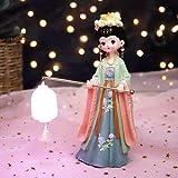 Rfgthp Regalo Creativo, Regalo de Palacio Antiguo, decoración de Dormitorio, decoración de lámpara de atmósfera, Regalo de cumpleaños, Novia