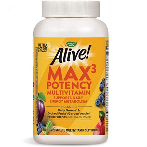 Nature's Way Alive! Max3 Daily Adult Multivitamin