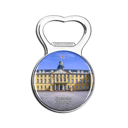 Weekino Schloss Karlsruhe Deutschland Bier Flaschenöffner Kühlschrank Magnet Metall Souvenir Reise Gift