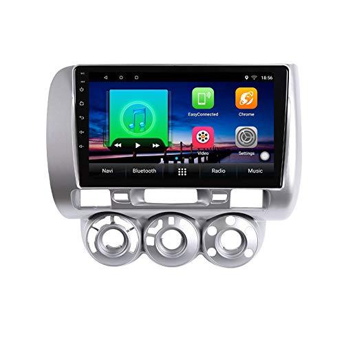 9 pulgadas Android 10.0 coche reproductor multimedia GPS para Honda Fit jazz 2004 2005 2006 2007 audio coche radio navegación estéreo