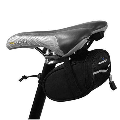 LXDDP Sacoche Selle vélo Vélo sous la Pochette siège Pack Cales vélo pour VTT Noir
