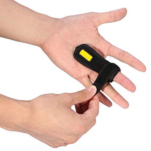 Fingerschiene Ringfinger, Einstellbare Fingerorthese Mittelfinger Trigger Finger Schiene mit Haken & Loop Fit alle Finger Steifigkeit, Klick & Popping Schmerzlinderung von Stenose Tenosynovitis